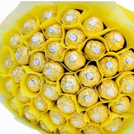 40 Pieces Ferrero Rocher Bouquet
