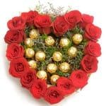 16-Red-Roses-and16pieces-Ferrero-Rocher