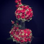 60 Red Roses Flower Arrangement