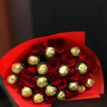 Red Roses Ferrero Rocher